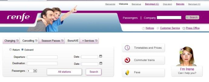 西班牙火车网上订票详细攻略1