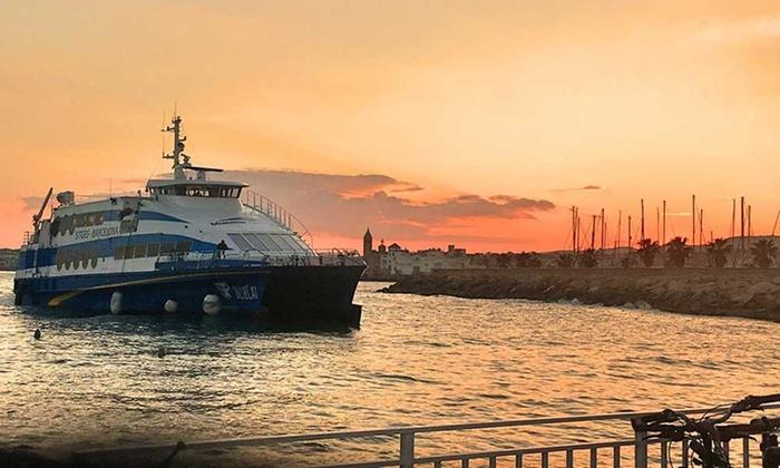 巴塞罗那 BARCELONA 到锡切斯 SITGES 海上往返之旅